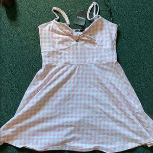 NWT light Pink junior girls LG dress